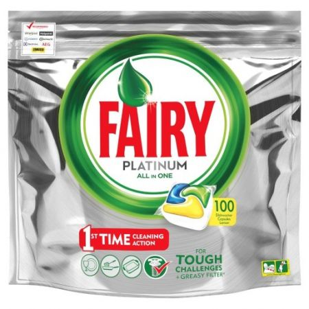 Tabletki do zmywarki Fairy All in One 100 szt Lemon