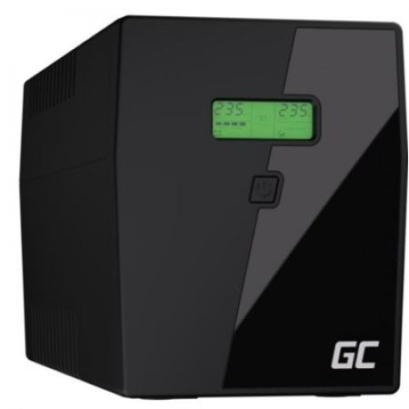 Green Cell Zasilacz awaryjny UPS 2000VA 1400W Power Proof