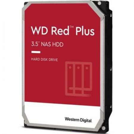 Western Digital Dysk WD Red Plus 6TB 3,5'' CMR 64MB / 5400RPM Class