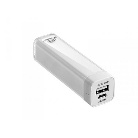 TRACER PowerBank Tracer 2600 mAh TRABAT44377 Bialy