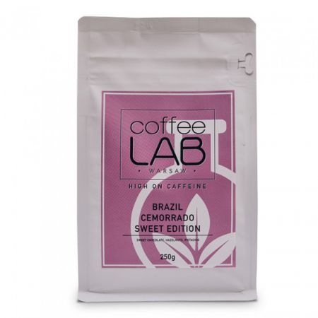 "Kawa ziarnista CoffeeLab ""Brazylia Cemorrado Sweet Edition"", 250 g"