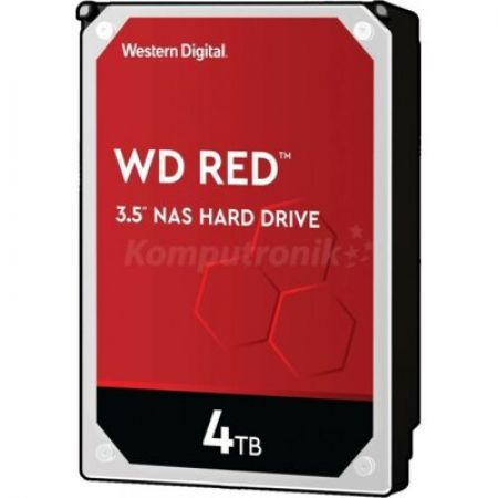 Western Digital Dysk WD Red Plus 4TB 3,5 cala CMR 256MB/5400RPM Class