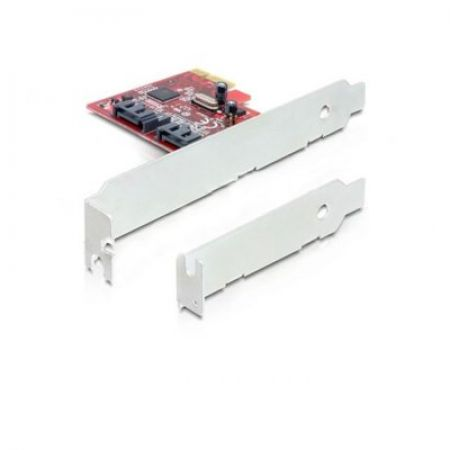 Delock Karta PCI Express->2xSATA Internal
