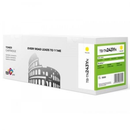 TB Print Toner do Brother TN243Y TB-TN243YN YE 100% nowy