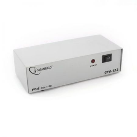Gembird Video Splitter VGA 2 Monitory